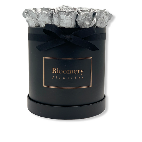 Glamour Flowerbox SILBER Large