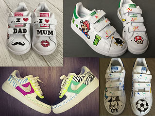 customisation baskets stan smith personalisées