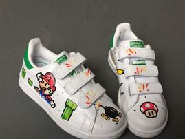 Adidas Stan Smith Mario bros