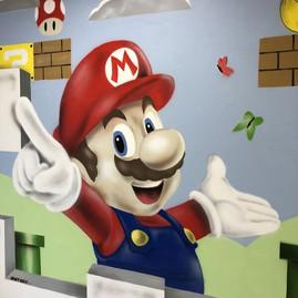 fresque Mario