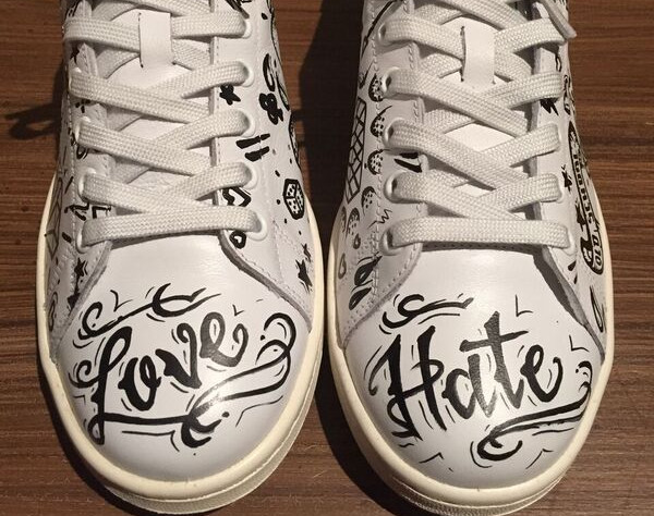 Stan Smith tattoo love hate