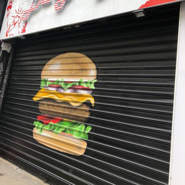 graffiti Burger Dream