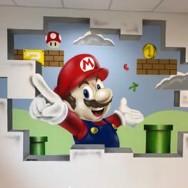 fresque Mario Hopital