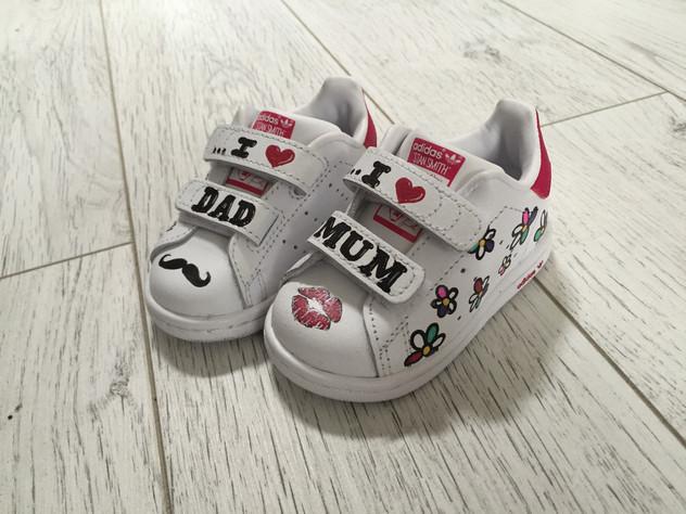 Stan Smith i love dad/mum