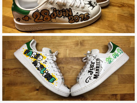 Adidas Stan Smith Just Married