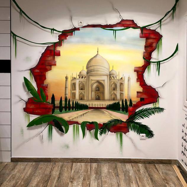 deco Restaurant Indien Taj Mahal