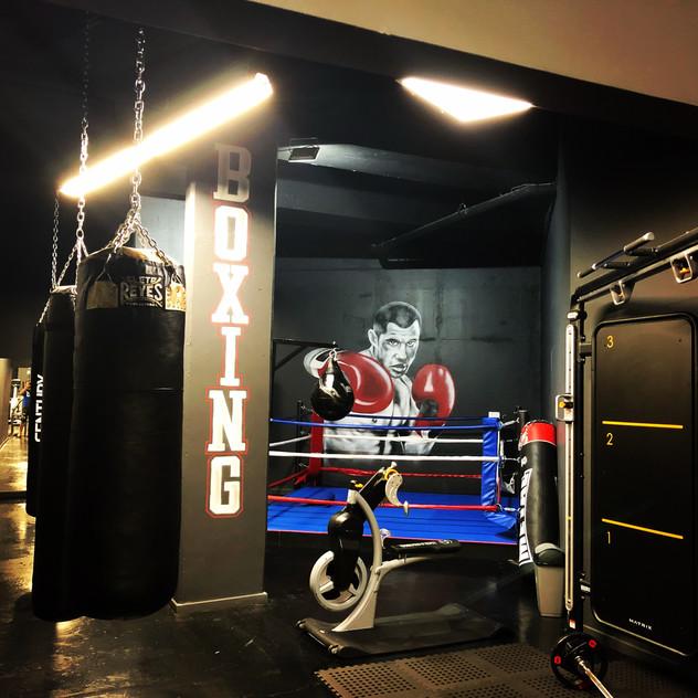 déco Boxeur defi Gym