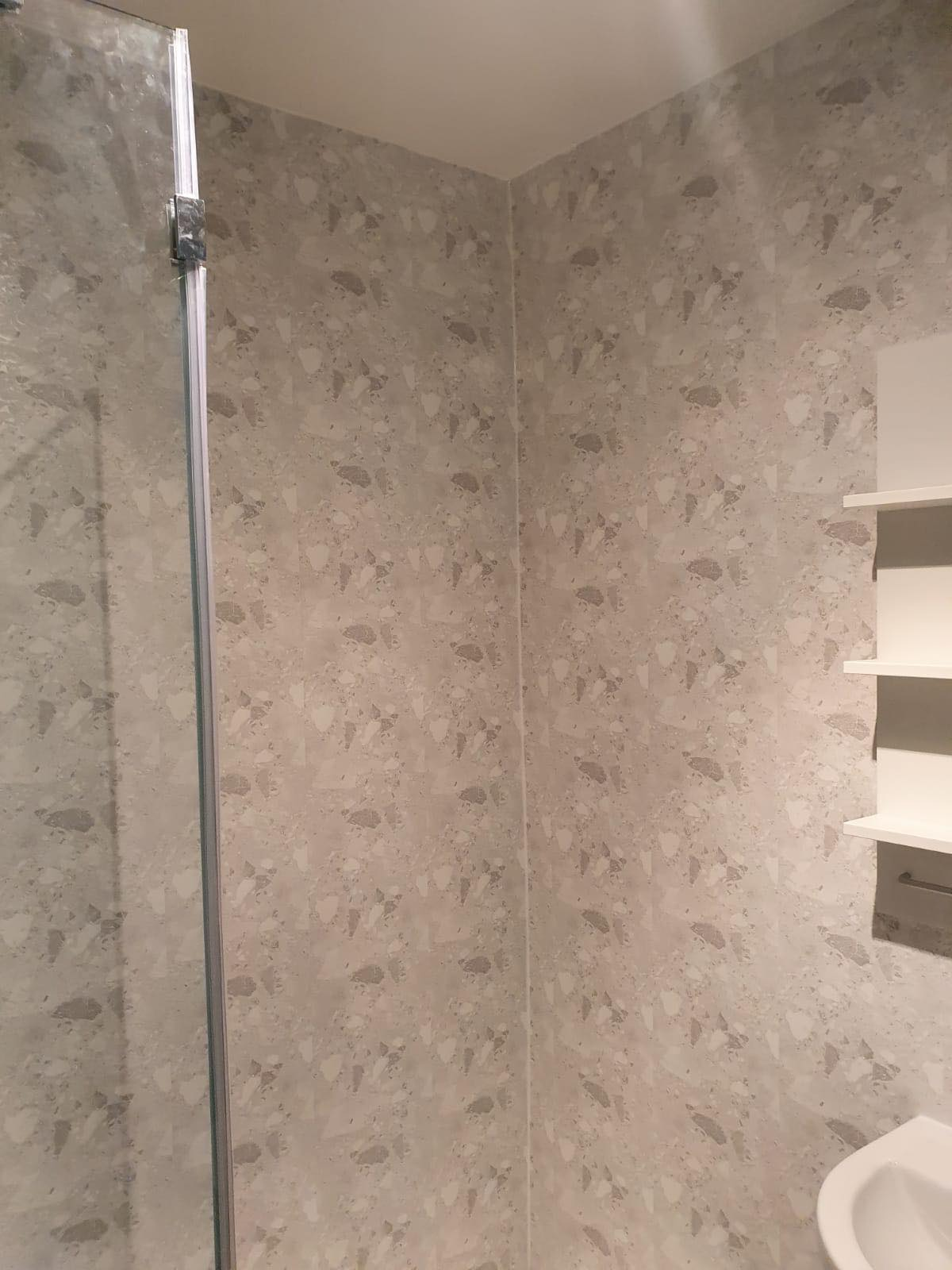 Wall cladding © Shower People Ltd.