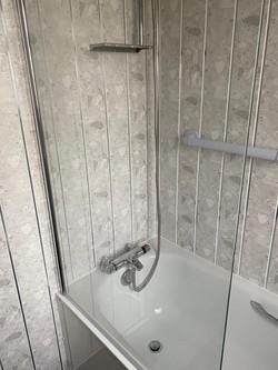 Wall cladding © Shower People Ltd.