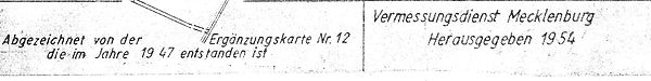 07-W-Ki-16 Flurkarte Wampen 1954 Fußzeil
