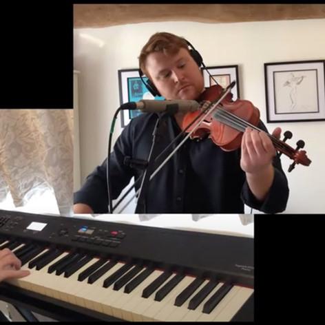 Somewhere Over The Rainbow - Ben Holder [violin & piano]