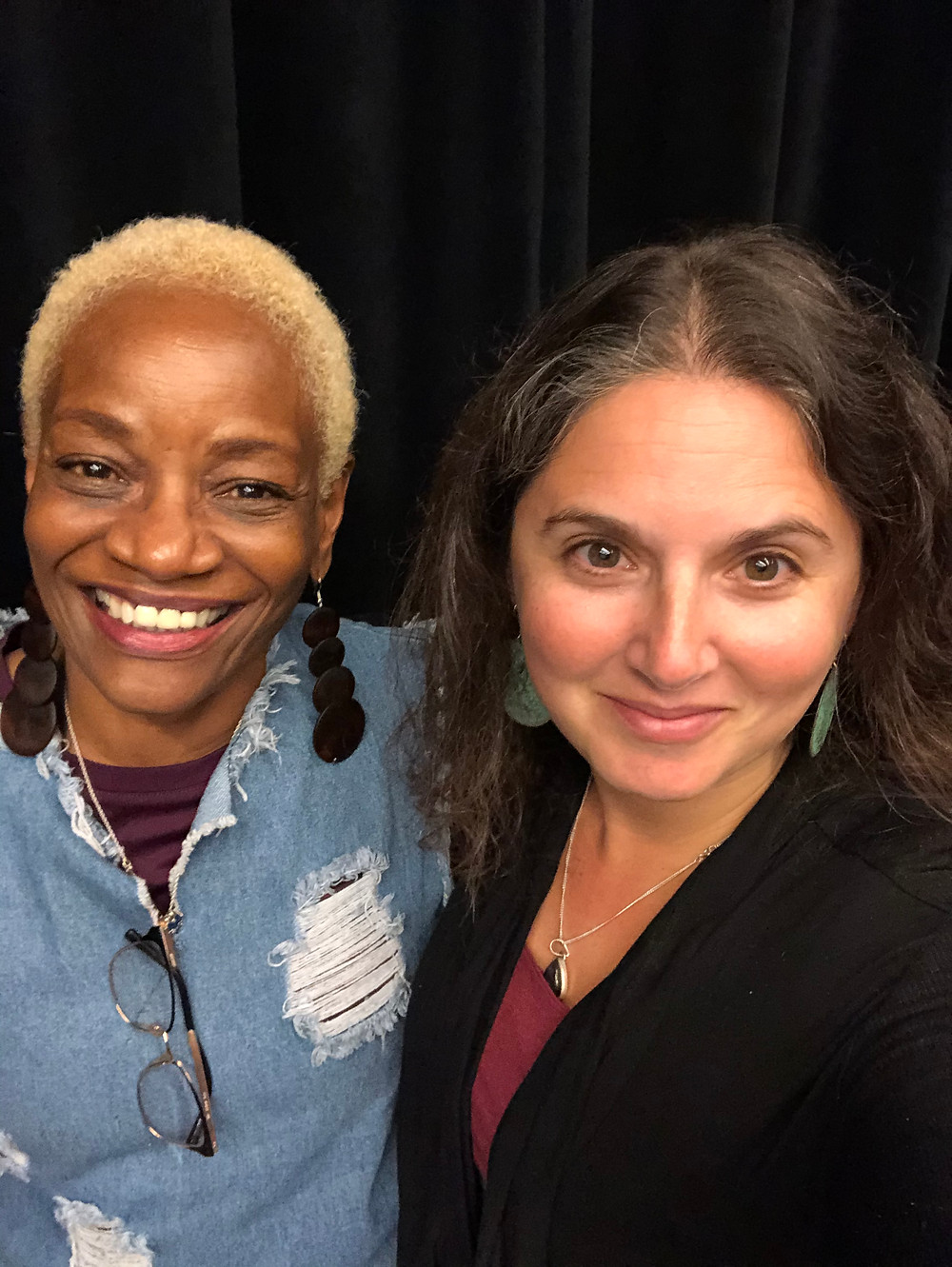 Deborah Payne and Arielle Nóbile