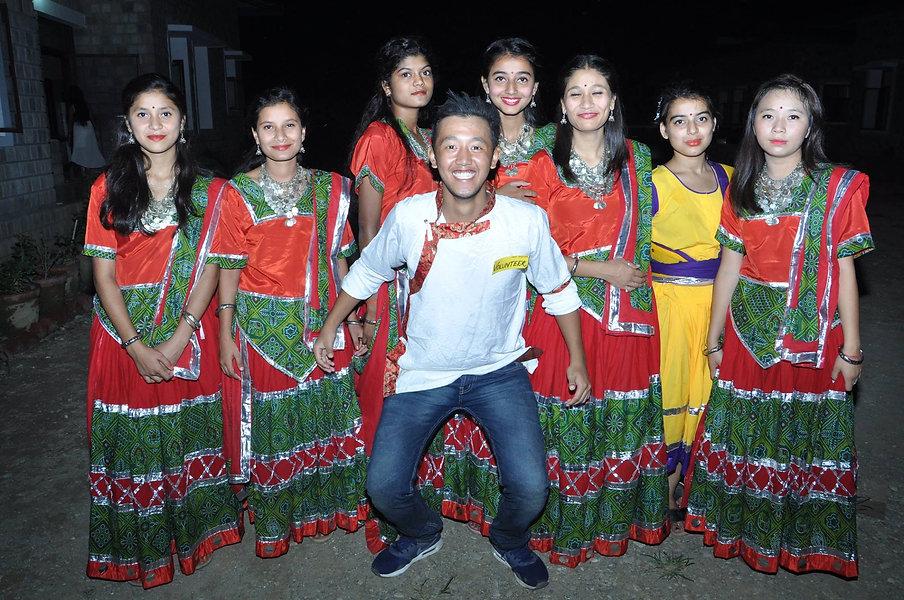 girls at Indian Village .jpg