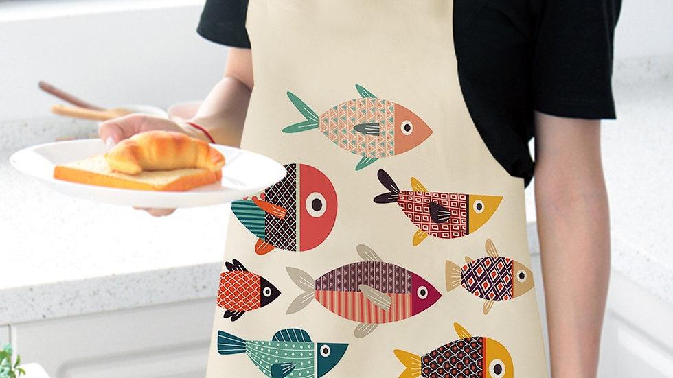 Unisex Fish Apron