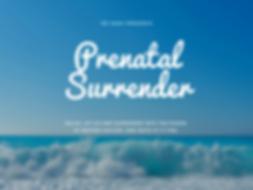 Guided Meditation - Prenatal Surrender C