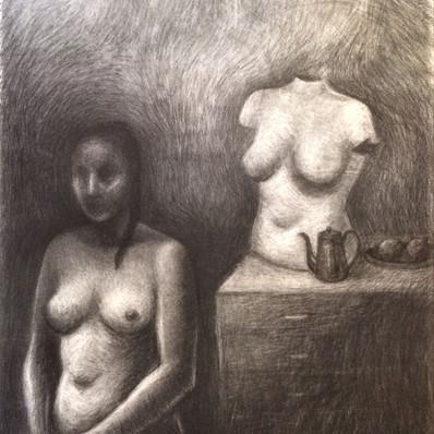 Nude with Torso