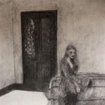 Helen alone