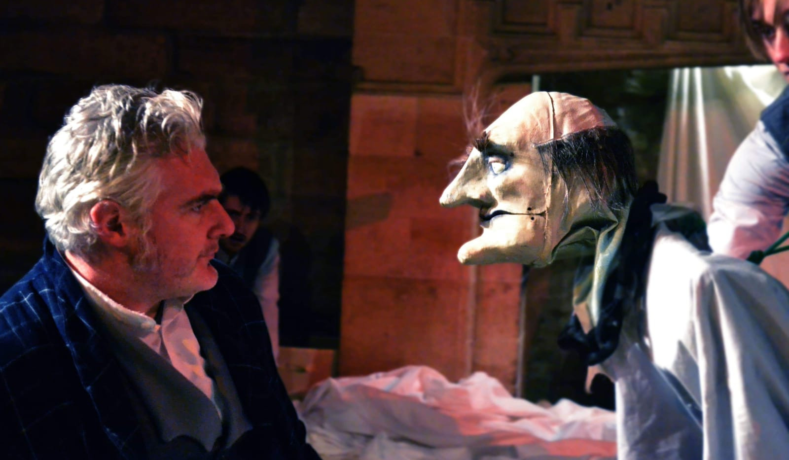 Scrooge and Marley from TSNE Christmas Carol at the Castle