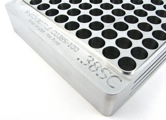 100 Round Case Gauge - 38 Supercomp Silver