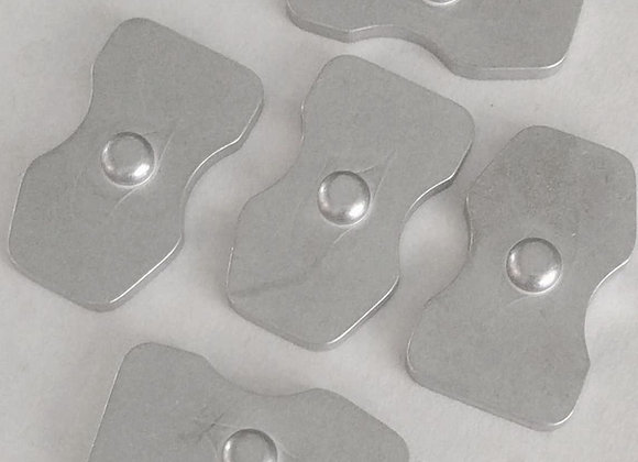 Pushbutton Basepad Retainer Plates (5 pack)