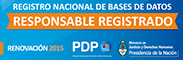 Responsable Registrado en Base de Datos.