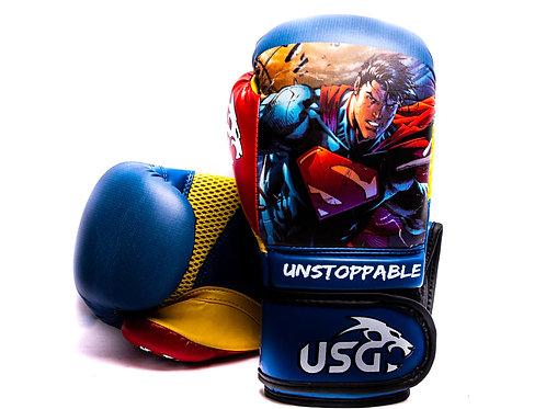 USG Kids Superman- Superhero 6oz gloves