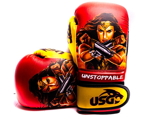 USG Kids Wonder-woman Superhero 6oz gloves