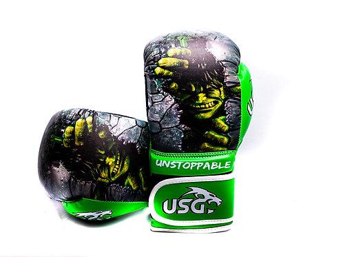 USG Kids Hulk Superhero 6oz gloves