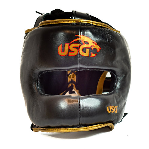 USG Black and gold Full face protection