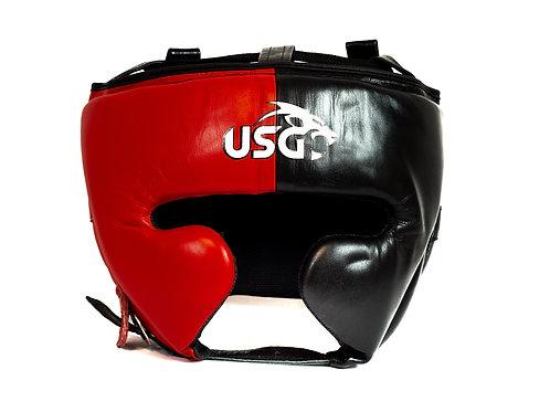 USG Red and Black Full face Headgear