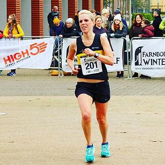 Tough race at #farnboroughhalfmarathon o