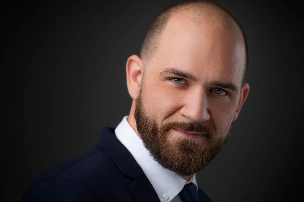 Studio Headshot of a businessman