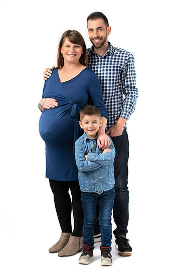 Professional Studio Maternity portrait