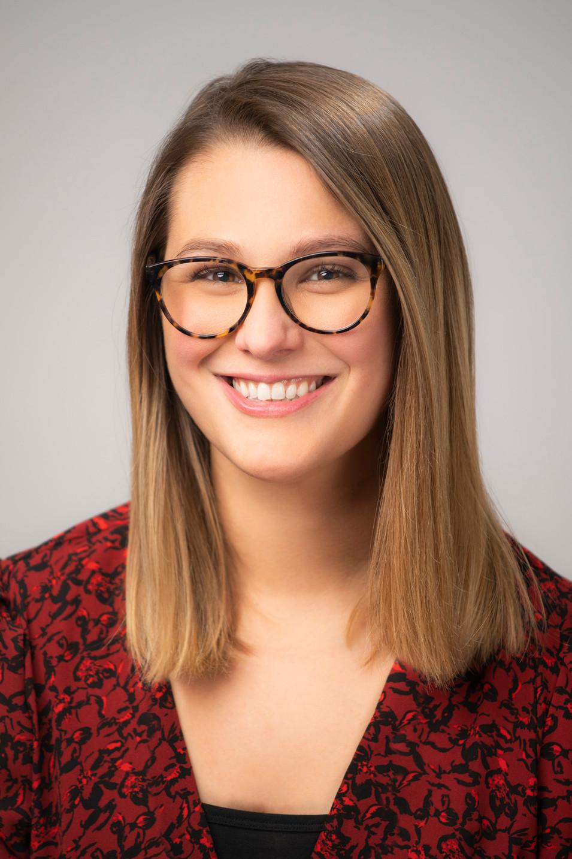 Studio Headshot of a young woman
