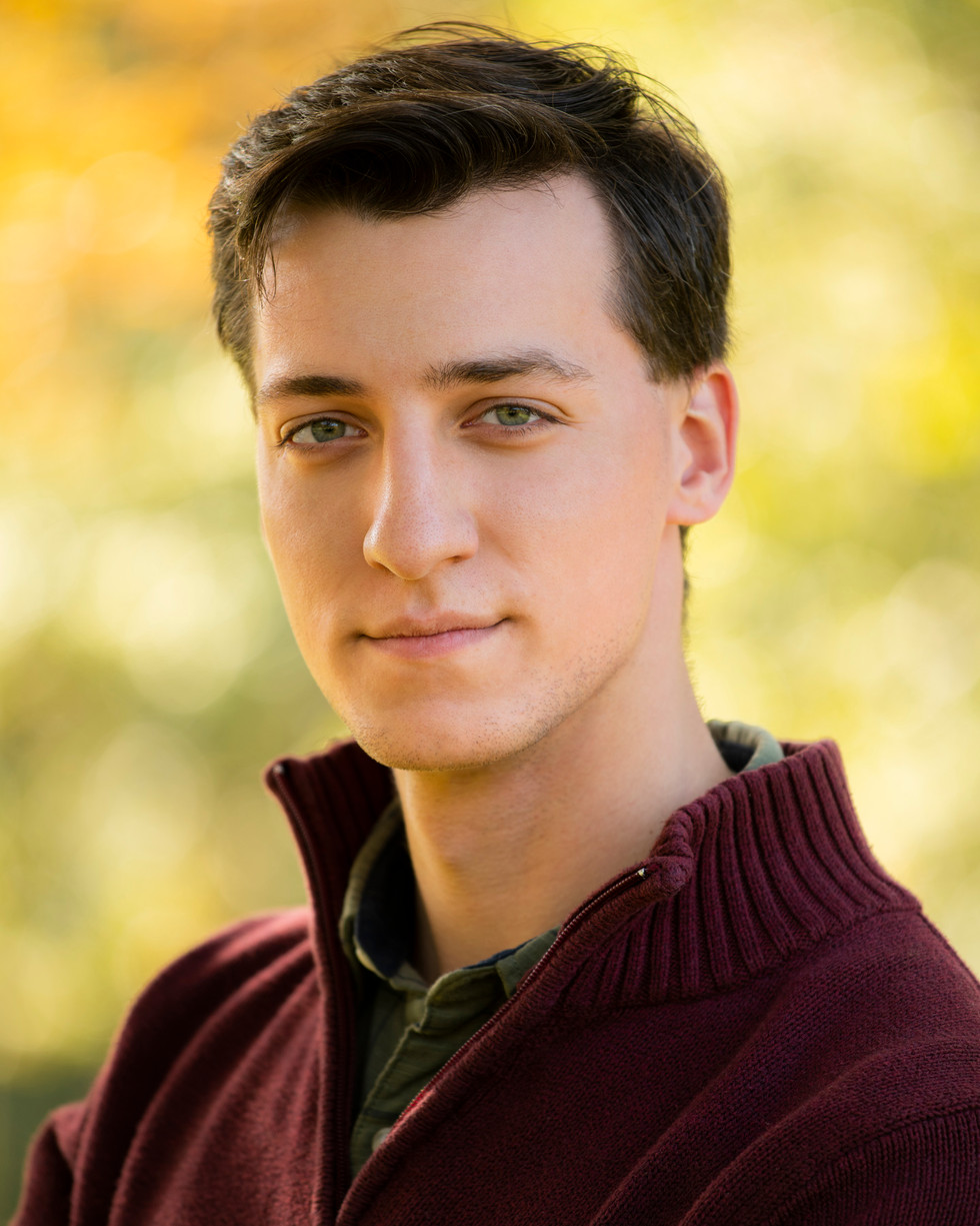 Outdoor Professional Portrait of a young man