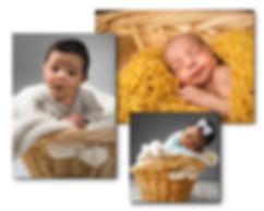 Professional Studio newborn portraits