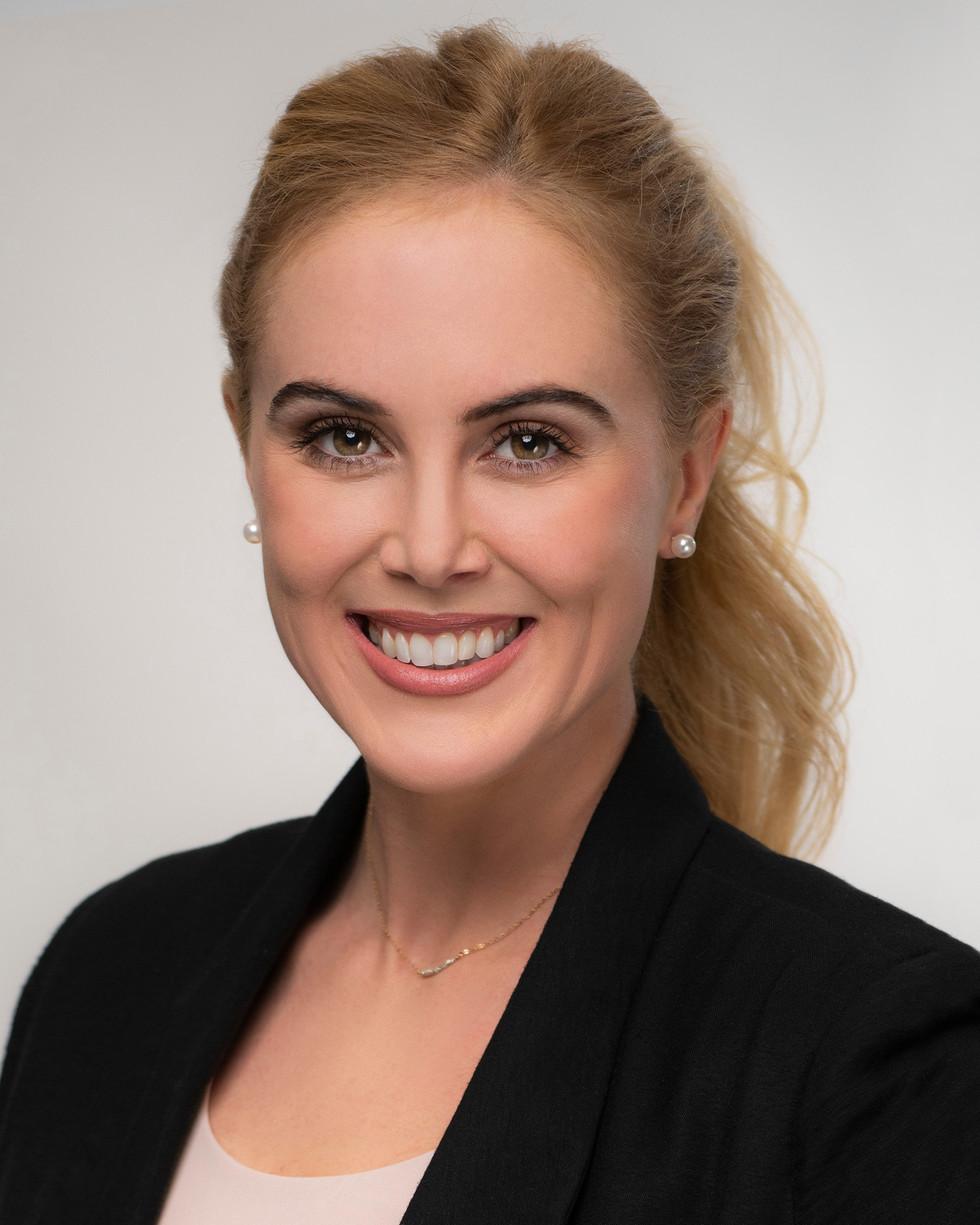 Studio Headshot of a business woman