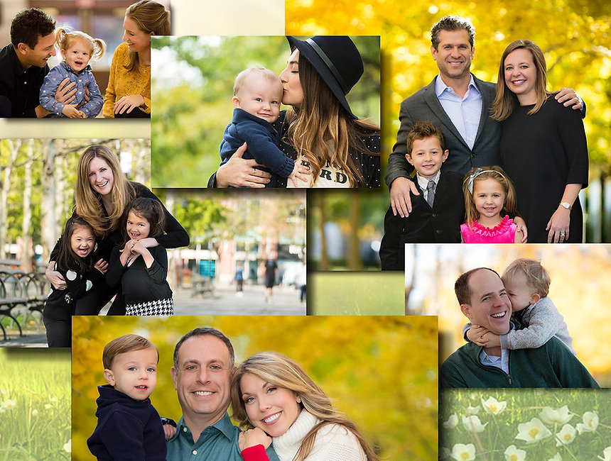 Professional Outdoor family portraits