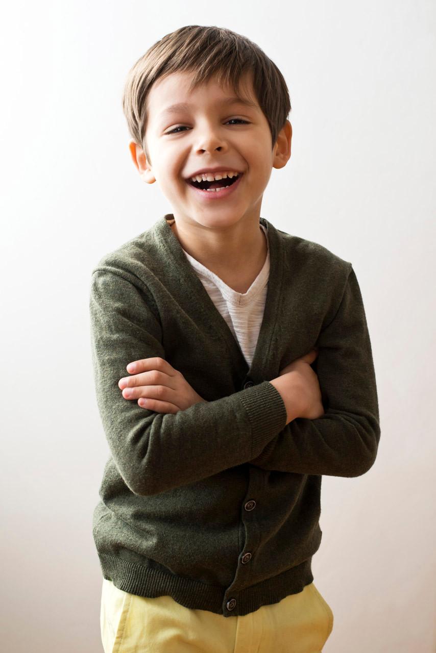 Professional portrait of a boy