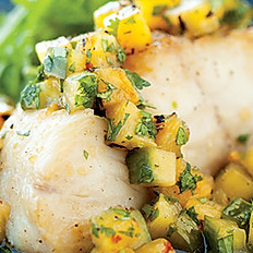Pineapple Cod w/ Veggies