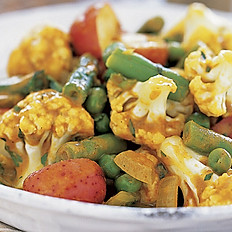 Curried Island Vegetables