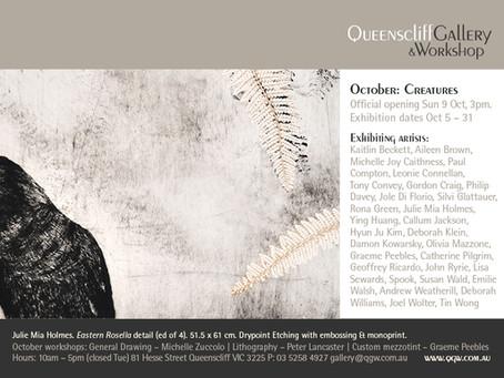 Creatures @ Queenscliff Gallery & Workshop
