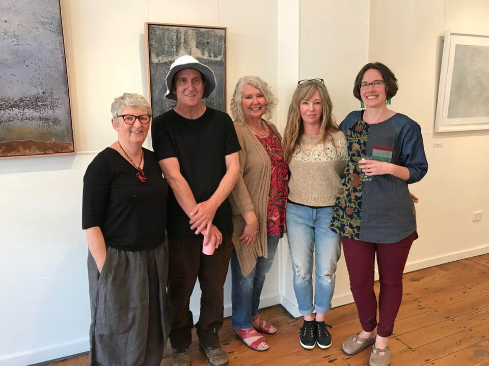 SERAN! (South East Region Artist Network) Heather Burness, Craig Cameron, Lorna Crane, Janine Scrivens & moi
