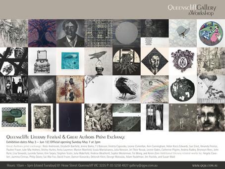 Queenscliff Gallery & Workshop Great Authors Print Exchange