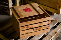 Apple Wooden Crate