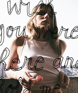 I wish you were here and...