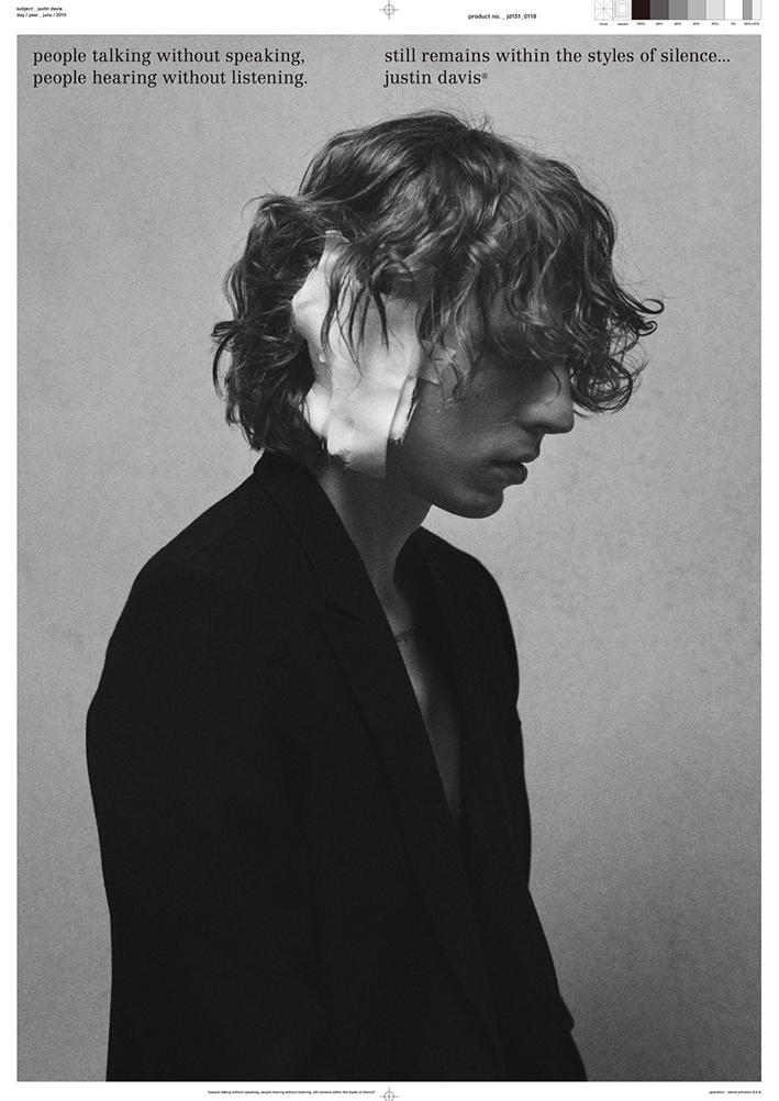 Justin Davis 2015S/S Poster
