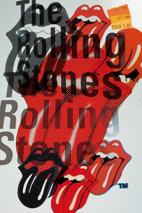 The Rolling Stones オフィシャルコラボ1