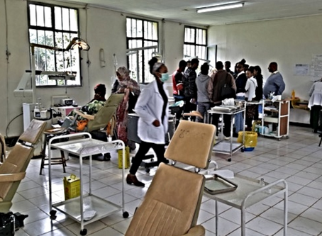The Trust's Second Summer at Tegbareid College, Addis Ababa