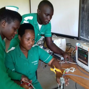 User Training for Student Midwives and Nurses at Fortportal International Nursing School, Uganda